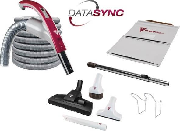 Odkurzacz centralny Cyclovac HX2015 z zestawem Data Sync 9m