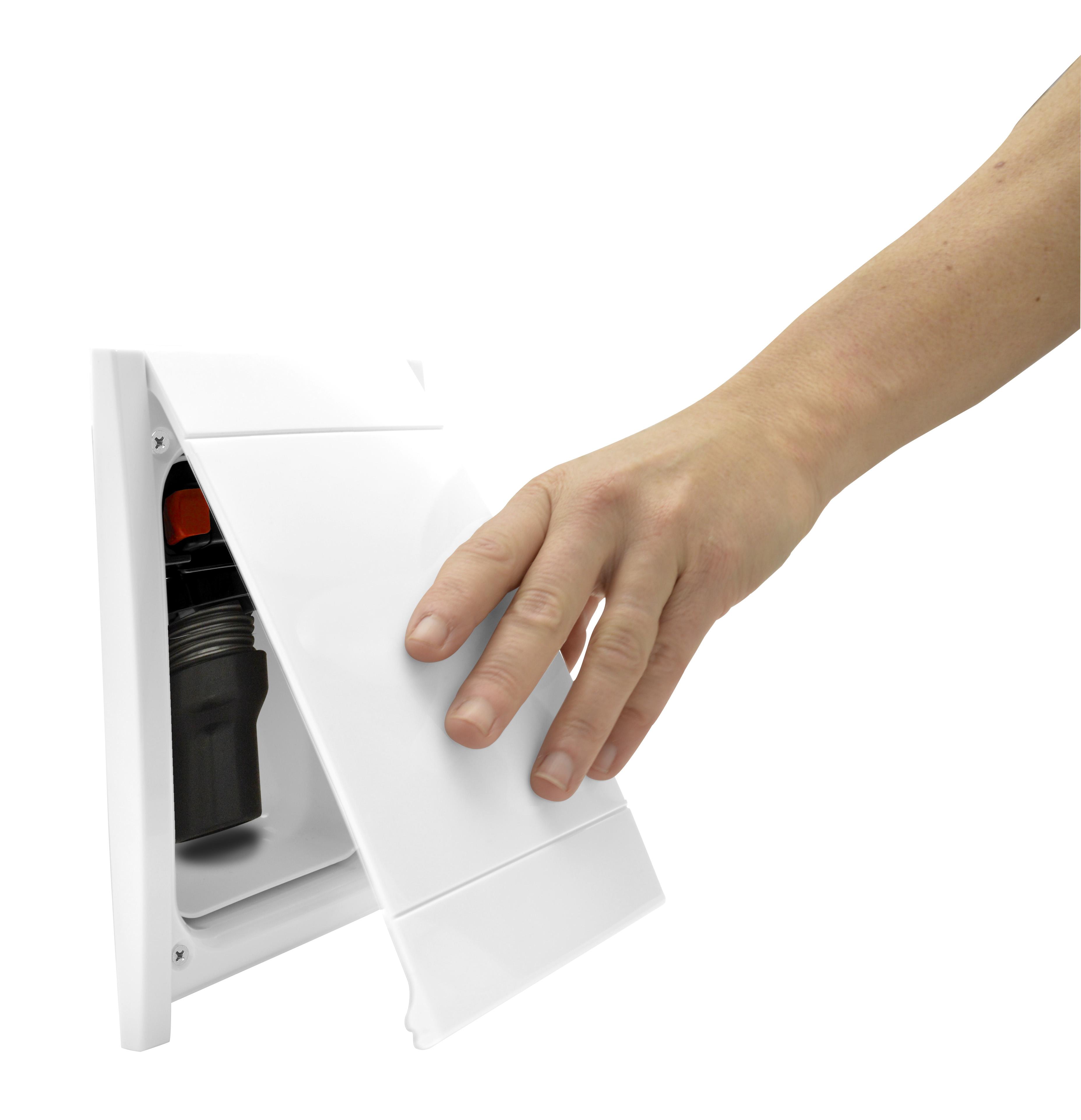 Drzwiczki do kasety gniazda Retraflex II, białe